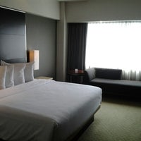Photo taken at Hotel Santika Premiere Jakarta by Mega R. on 3/23/2013