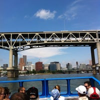 Photo taken at Willamette Jet Boat Tours by SAC on 8/10/2013