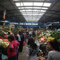 Photo taken at Plaza de Mercado de Paloquemao by Andrés N. on 6/15/2013