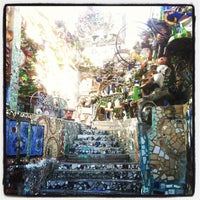 Photo taken at Philadelphia's Magic Gardens by Ksenia on 5/26/2013