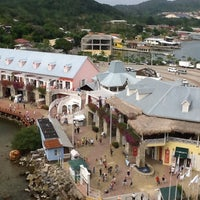 Photo taken at Town Center at Port of Roatan by Millie R. on 3/27/2013