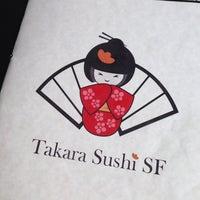 Photo taken at Takara Sushi by Emman on 4/20/2014
