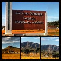 Photo taken at Parque Nacional da Chapada dos Veadeiros by Thiago C. on 7/26/2013
