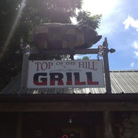 Photo taken at Top Of The Hill Grill by Matthew on 7/27/2013