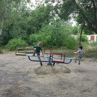 Photo taken at Детская площадка by Maria on 6/17/2013