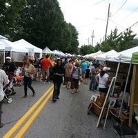 Photo taken at East Atlanta Village by Mark C. on 9/15/2012