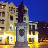 Photo taken at Centro Histórico de Cartagena / Ciudad Amurallada by Andrés P. on 5/20/2013