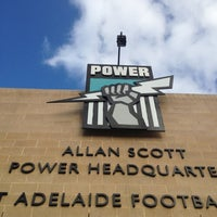 Photo taken at Port Adelaide Magpies Football Club by Andrew S. on 3/13/2013