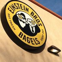 Photo taken at Einstein Bros Bagels by Lisa B. on 1/31/2013