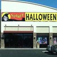 Photo taken at Spirit Halloween by Lisa B. on 10/21/2012
