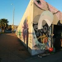 Photo taken at Escollera Sarandí by Davi S. on 7/3/2014