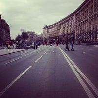 รูปภาพถ่ายที่ Вулиця Хрещатик / Khreshchatyk Street โดย Rostik S. เมื่อ 7/16/2013