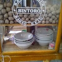 Photo taken at Bakso Jamur Keju Bintoro by Dhani A. on 11/6/2012