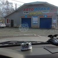 Photo taken at Автомойка рядом со Сванским Двором by I.B. K. on 10/21/2012