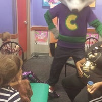 Photo taken at Chuck E. Cheese's by Melanie C. on 10/27/2013