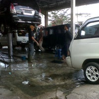 Photo taken at Cangkuang Car Wash by Perry S. on 5/11/2013