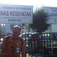 Photo taken at Dinas Kesehatan (DinKes) Kota Bandung by Sigit H. on 3/17/2015