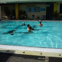 Photo taken at Swimming Pool Agas International Hotel by Irfan A. on 10/4/2012