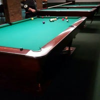Photo taken at Chicago Billiards Cafe by Princess M. on 10/12/2015