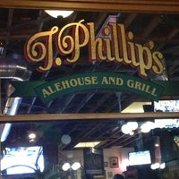 Photo taken at T. Phillips Alehouse & Grill by Robert A. on 5/11/2013