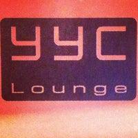Photo taken at YYC Lounge by Sarah H. on 10/14/2013