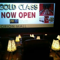 Photo taken at Pvr Gold Class by Krishna G. on 7/31/2013
