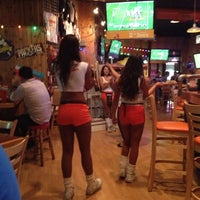 Photo taken at Hooters of Santa Monica by Anton D. on 11/2/2012