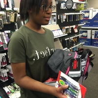 Photo taken at Office Depot by goodcoffy on 8/15/2015