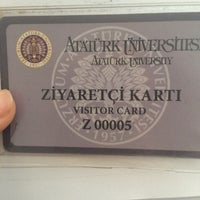 Photo taken at Atatürk üniversitesi BAUM by Gizem K. on 5/16/2016