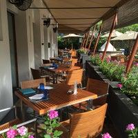 Photo taken at Pool Terrace Café & Bar by Chan K. on 9/18/2016