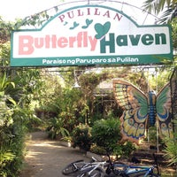 Photo taken at Butterfly Haven Pulilan by Sette d. on 3/11/2017
