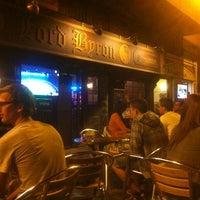 Photo taken at Lord Byron Café by O Pedro F. on 10/7/2012