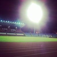 Photo taken at Hasely Crawford Stadium by DJ Adam G. on 10/18/2012