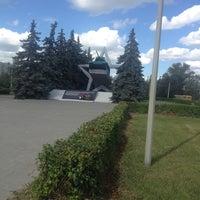 Photo taken at Памятник Танкистам by Оля K. on 6/24/2014