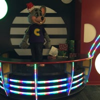 Photo taken at Chuck E. Cheese's by Larisa K. on 12/4/2015
