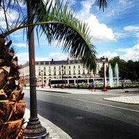 Photo taken at Place Jean Jaurès by Yohann T. on 7/29/2013