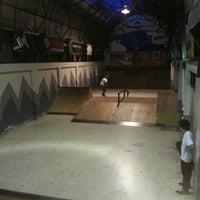 Photo taken at Arenas Skate Park Cartago by Alejandro C. on 4/19/2013