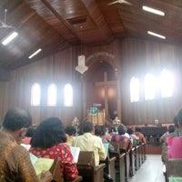 Photo taken at HKBP BALIKPAPAN Gunung Malang by D3ddy D. on 9/8/2013