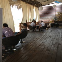 Photo taken at Aqua Beach VIP Cafe by Kerry Konn on 8/2/2013