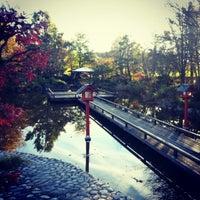 Photo taken at Japanischer Garten by Thomas F. on 11/1/2012
