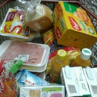 Photo taken at Supermercado Fortaleza Hiper by Evelyn R. on 3/2/2013