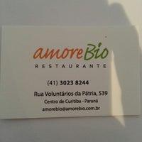 Photo taken at Amore Bio Restaurante by Ricardo C. on 1/31/2014