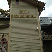 Photo taken at Villa Margaretha Hotel Tartu by Stéphane D. on 9/15/2013