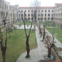 Photo taken at Marmara Üniversitesi by Furkan Y. on 1/13/2013