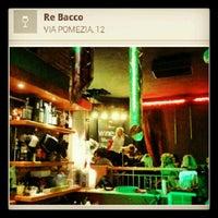 Photo taken at Re Bacco by Donatella M. on 3/5/2013