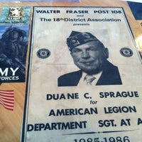 Photo taken at American Legion Post No.108 by David P. on 5/25/2012