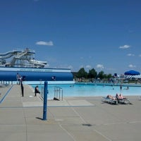 Photo taken at Red Oaks Waterpark by Evan B. on 6/7/2012
