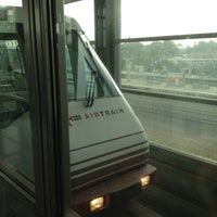 Photo taken at Newark Liberty Airport Station (Amtrak/NJT) by Richard F. on 8/21/2012
