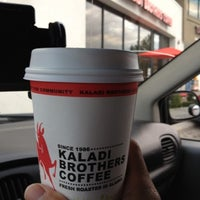 Photo taken at Kaladi Brothers Coffee by Lenny N. on 8/10/2012