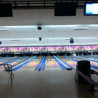 Photo taken at Northland Bowl & Recreation Center by Flavia N. on 5/2/2014
